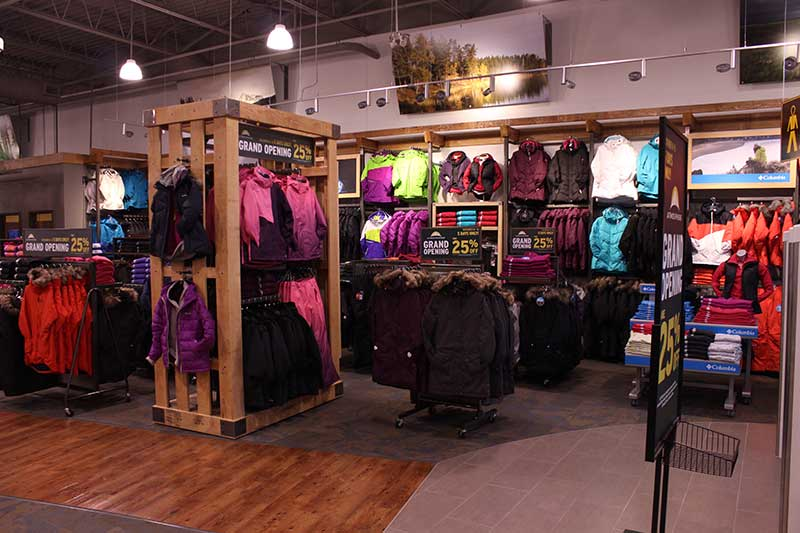 Outdoor Sport Clothing Store Stock Photos, Images, & Pictures